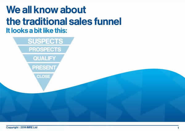2 traditional sales funnel