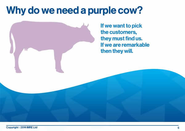7 why do we need a purple cow