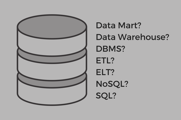 data mart and other data base terms