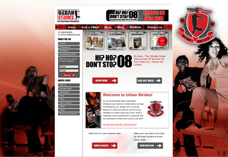 Urban Strides New Background